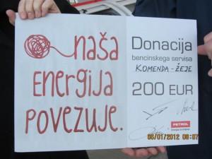 Donacija Naša energija povezuje