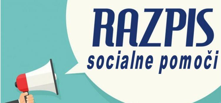 RAZPIS SOCIALNE POMOČI 2019